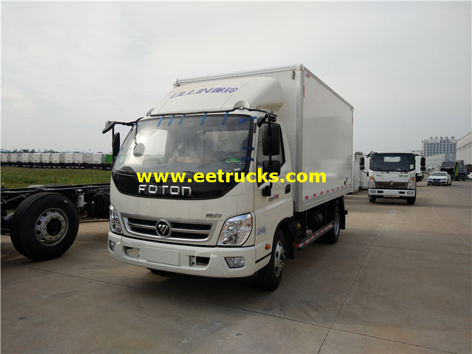 Foton Insulated Van Vehicles