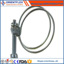 Good Quality and Best Price Double Wire Hose Clamp
