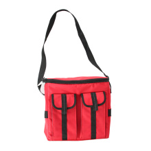 Extra Pouch Ice Pack Cooling Carry Cooler Bag