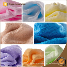 Solid Color Yarn Dyed Embroidered Dobby Bamboo Face Towels Bamboo Baby Washcloth,Organic Bamboo Clean Towel