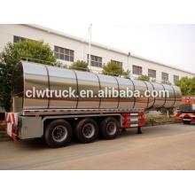 Remolque del tanque de aceite de cocina de 3 ejes 49000L