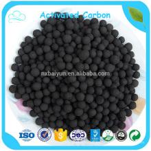 Carbón activado esférico a base de carbón de alta calidad de la materia prima del carbón de la antracita