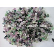 Fluorita púrpura piedra caído