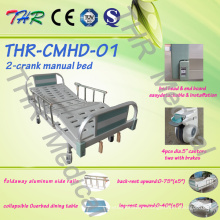 Medical Double-Crank Manual Bed (THR-CMHD)