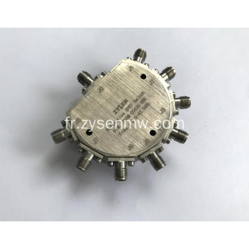 Commutateur de diode à broche 0,5 - 43,5 GHz SP8T