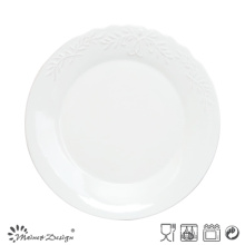 Hot Sale Embossed and Elegant Colorful Salad Plate