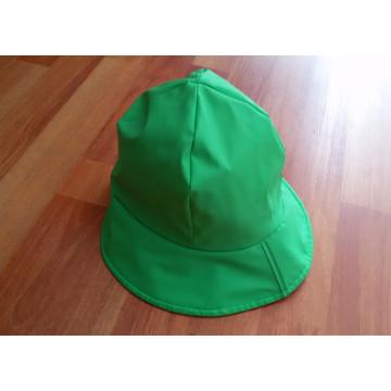 Green PU Raincoat for Child