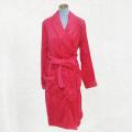 Красный халат пушистая пижама