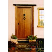 Cheap Mohogany Wood Front Door Design House Wood Door