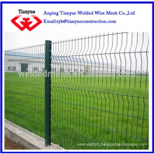 Triangle bending wire mesh fence(factory)