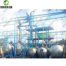 Destilación del precio de la máquina de tratamiento de petróleo crudo