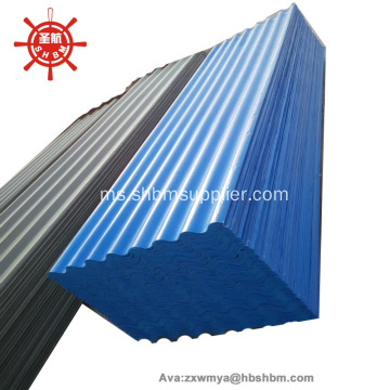 Bukan Asbestos Non-Karsinogenic Eco-friendly MgO Roofing Sheet
