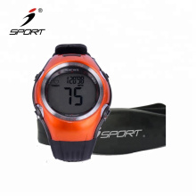 2019 New Arrivals Amazon Smart Exercise Fitness Track Bracelet Band Heart Rate Monitor Health Watch With Chest Strap