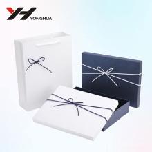 Оптовая логотип 2018 напечатано синий и белый бумажная коробка картона