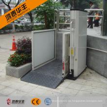 Personas con discapacidad casa hombre mini ascensor fábrica venta directa.