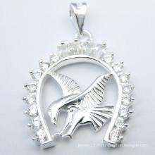 Bijoux spéciaux pendentif en argent design animal