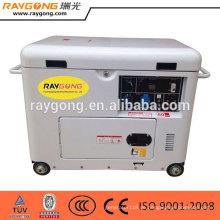 Guter preis 5kw luftgekühlte kleine stille diesel generator