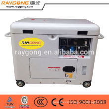 Good price 5kw Air cooled small silent diesel generator set