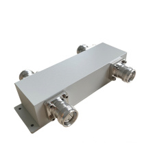 550-3800MHz IP65 4.3-10 Female 2in 2out Hybrid Coupler / 2: 2 Combiner