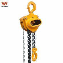 Levantamiento de elevación manual Elevador de cadena de 5 toneladas