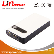 CE/FCC/ROHS Certification multi-function jump starter 12v 8000 mah with 400a peak current