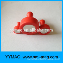 High quality colorful magnetic push pin D12x20