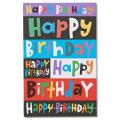 Verschiedene Farben Einladungskarte Für Kindergeburtstag, Cartoon Einladungskarte Glitter Card