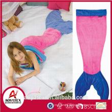 angemessener Preis super weiche süße Flanell Fleece Mermaid Tail Decke