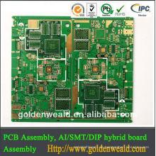 ROHS ENIG PCB Leiterplattenmontage Potentiometer
