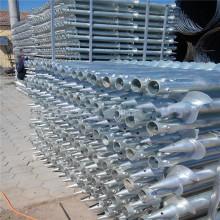 Customized Length Galvanized Steel Ground Screw Pile