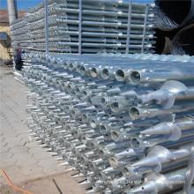 Placa de montaje de tornillos de tierra para iluminación Salar