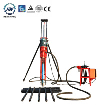 Small portable rock hole man drilling rig machine