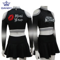 maßgeschneiderte Design volle Sublimation Cheerleading Uniformen