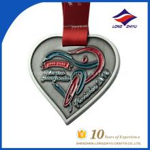 Heartshape Металла Эмали Изготовленный На Заказ Дешевый Оптовый Медаль