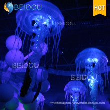 Decoration Event Stage Wedding Party RC LED Inflatable Jellyfish