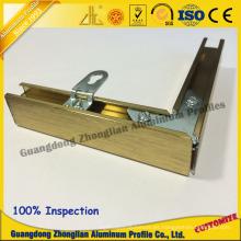 Perfil de extrusión de aluminio para marco de aluminio de decoración