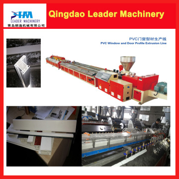 Soon Delivery Time PVC UPVC Window and Door Extrusion Machine