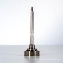 Титановый гвоздь с крышкой Carb для дыма с плоским Dabber (ES-TN-027)