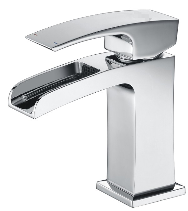 New style high quality waterfull basin mixer faucet