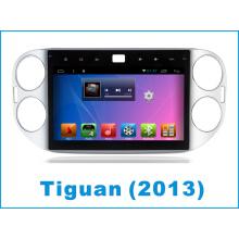 Android System Tiguan Car DVD Navigation GPS pour écran tactile de 10,2 pouces