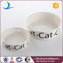 Proveedor de China de cerámica Pet Bowl para la alimentación de mascotas