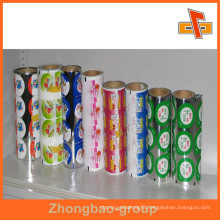 PE Peelable Lidding Film For Yogurt Aluminum Foil Cup Cover / Lids In Roll