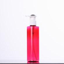 Bouteille de pompe en plastique de lotion rouge pour cosmétique (NB20002)