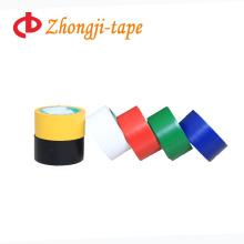 Fita de advertência de PVC com adesivo quente