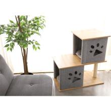 Cat Tabble Board Felt Wood Premium Wholesale Modern Cat Tree House