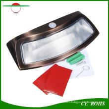 Creative Cambered 8LED High Power Motion Sensor Solar Wall Light Smile Garden Wall Lamp Solar Stair Safety Lights