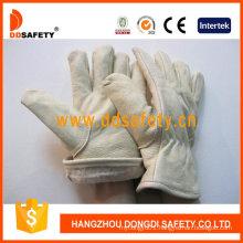 Pig Grain Winter Leather Gloves Dlh213