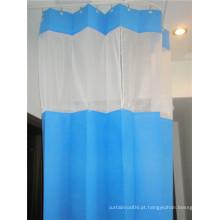 Cortinas descartáveis da cama de hospital cortina antibacteriana do hospital