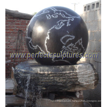 Stone Floating Ball Fountain with Granite Rolling Water Fountain (SF-B089)