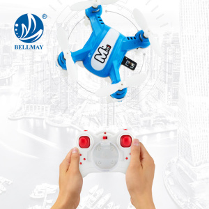 El nuevo producto vende al por mayor 2.4Ghz 6 Axis Easy Manipulated RC Nano Quadcopter con 360 grados Eversion